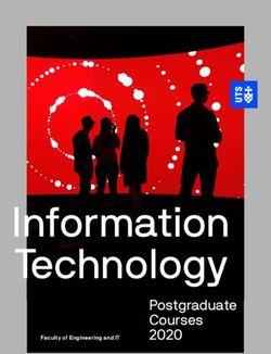 Information Technology - Postgraduate Courses 2020 - UTS