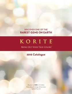 Korite - 2016 Jewelry Catalogue