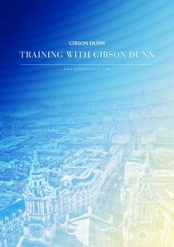 TRAINING WITH GIBSON DUNN 2020 - www.gibsondunn.com