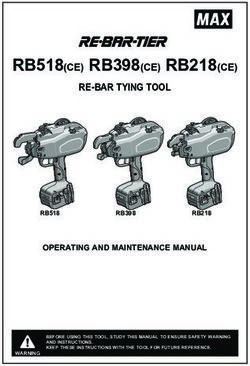 RB518CE RB398CE RB218CE - RE-BAR TYING TOOL