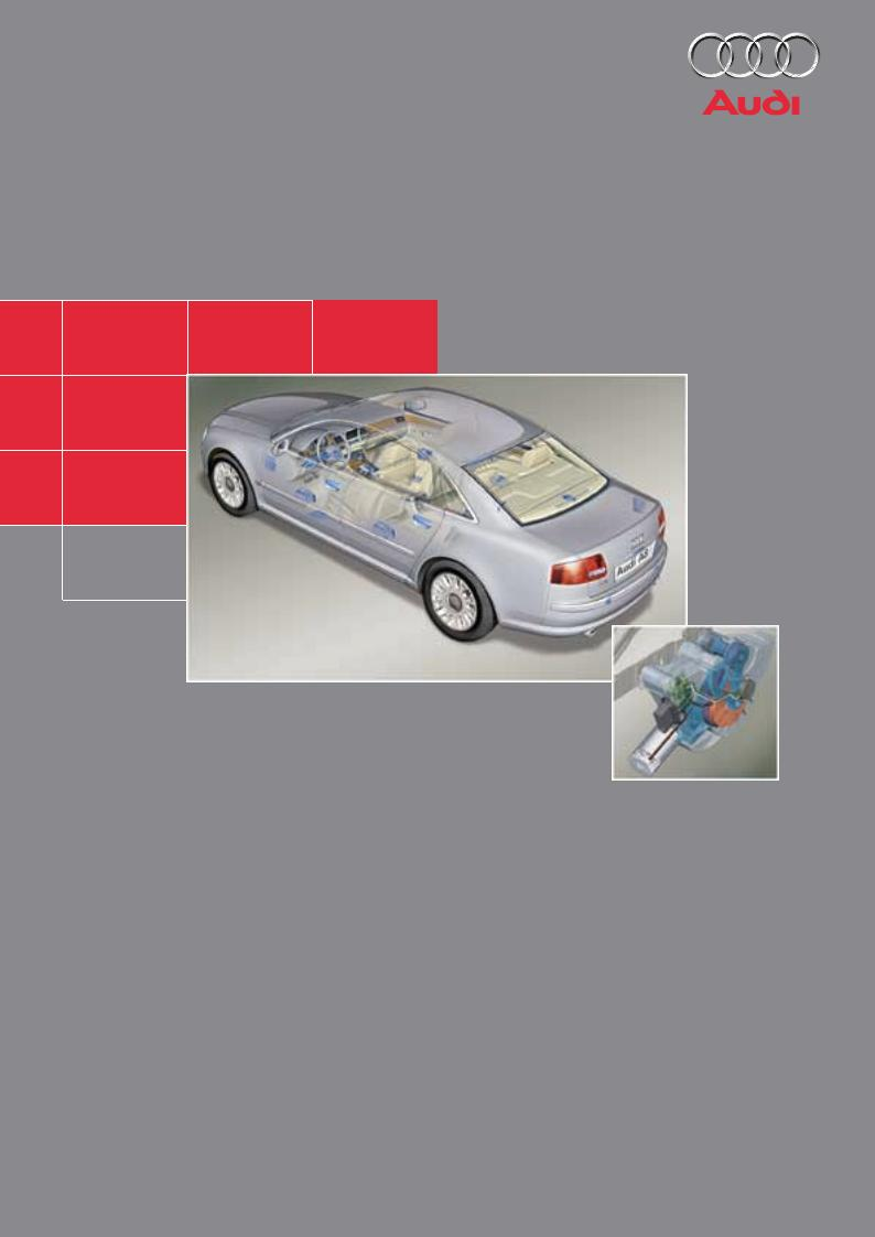 AUDI A8 03 - Elektrische Komponenten Selbststudienprogramm 287