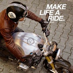 Make Life a Ride. BMW Motorcycle Clothing and Accessories Catalogue 2016.