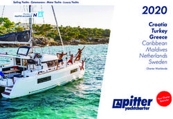 2020 Croatia Turkey Greece - pitter yachtcharter