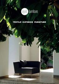 TEXTILE OUTDOOR FURNITURE