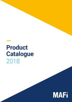MAFi Product Catalogue 2018