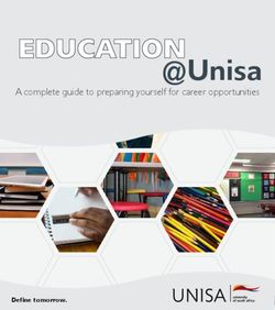 Unisa 2020 - A complete guide to preparing yourself for career opportunities