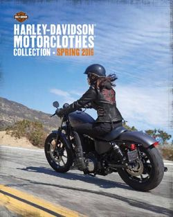 Harley-Davidson MotorClothes Collection. Spring 2016.