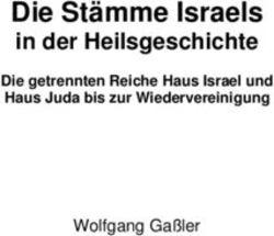 stämme israels