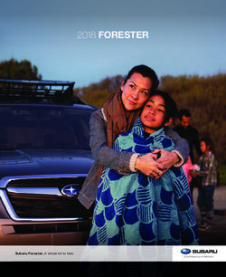 Forester 2018 - Amazon AWS