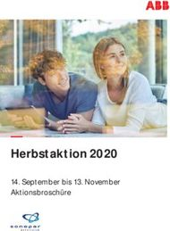 Herbstaktion 2020 14. September bis 13. November Aktionsbroschüre - ...