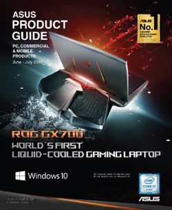 Asus Product Guide June-July 2016. PC, Commercial & Mobile Products
