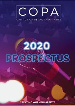 Campus of Performing Arts 2020