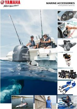 Yamaha Marine Accessories 2017