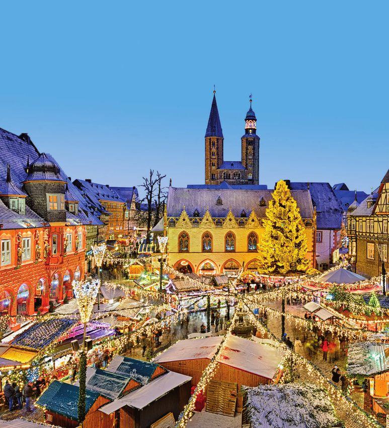 Advent Weihnachten Silvester - Städtereisen Goslar im Harz