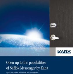 Open up to the possibilities of Saflok Messenger by Kaba