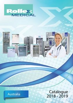 Rollex Medical Catalogue 2018 - 2019