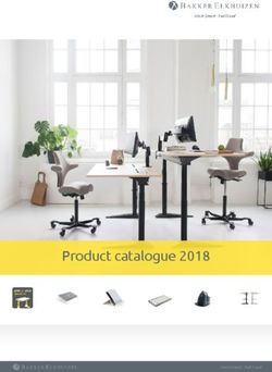Bakker Elkhuizen Product catalogue 2018