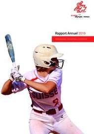 Rapport Annuel 2019 - SWISS BASEBALL AND SOFTBALL FEDERATION