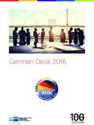 German Desk 2016 - Canosa Abogados
