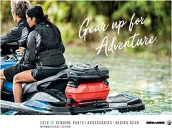 Sea-Doo Genuine Parts Accessories Riding Gear 2018