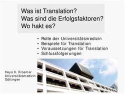 Was Ist Translation Was Sind Die Erfolgsfaktoren W H K Wo Hakt Es