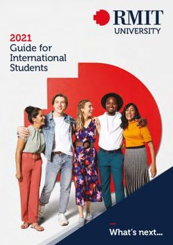 2021 Guide for International Students - RMIT UNIVERSITY